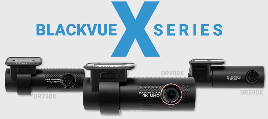 BlackVue X-series dashcams