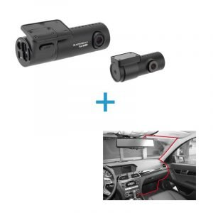 BlackVue DR590X-2CH voor achter dashcam+inbouwservice