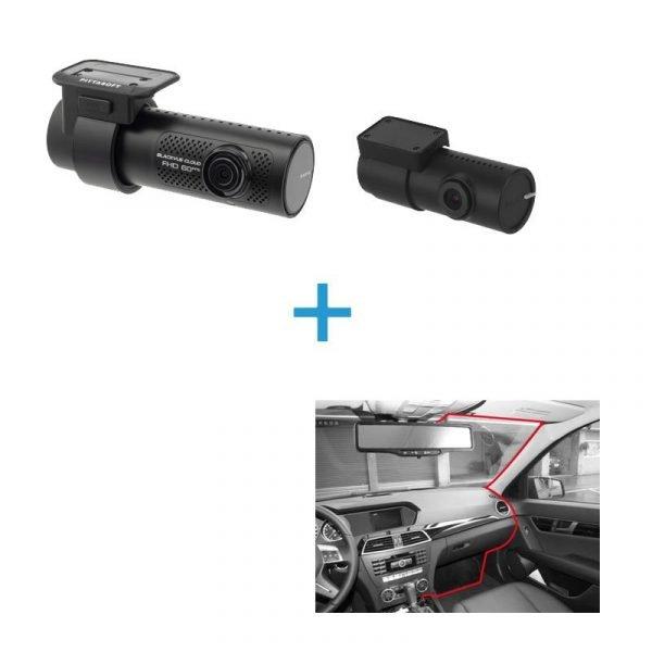 BlackVue DR750X-2CH voor achter dashcam+inbouwservice