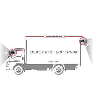 BlackVue-DR750X-2CH-Truck vrachtwagen bestelbus dashcam situatie