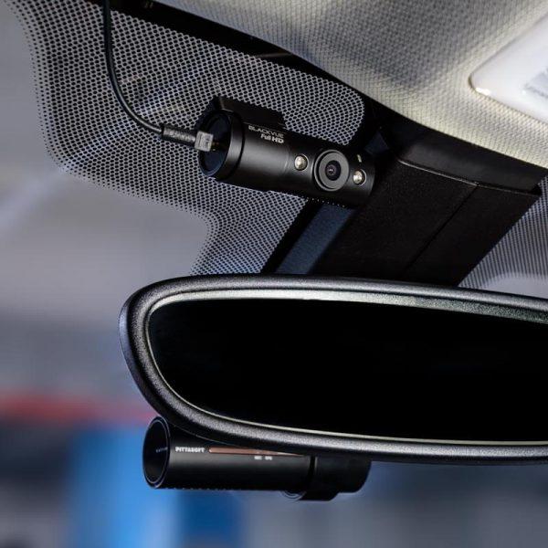 BlackVue-DR900S-2CH-IR-4k taxi dashcam spiegel