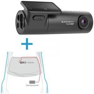 BlackVue-DR590X-1CH dashcam voorkant + inbouwservice
