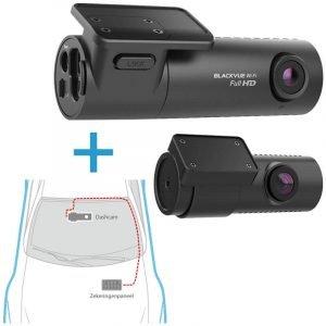 BlackVue-DR590X-2CH dashcam voor-achter + inbouwservice