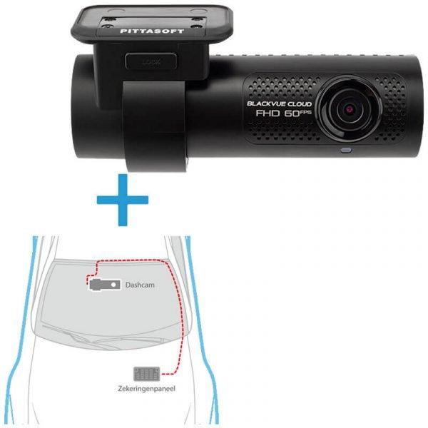 BlackVue DR750X-1CH dashcam voor+inbouwservice