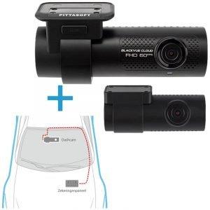 BlackVue DR750X-2CH dashcam voor-achter +inbouwservice