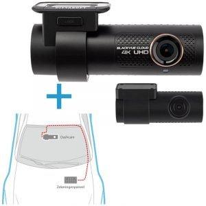 BlackVue DR900X-2CH dashcam voor-achter +inbouwservice